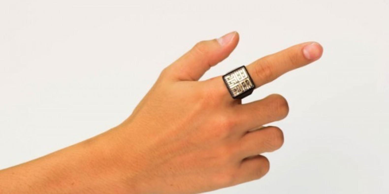 sesame ring theory 3D printed bague imprimée en 3D cults3D fichier 3D kickstarter boston MIT 3