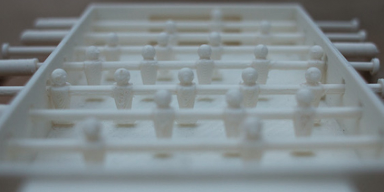 pocket foosball babyfoot fichier 3D cults impression 3D 3D printed 4