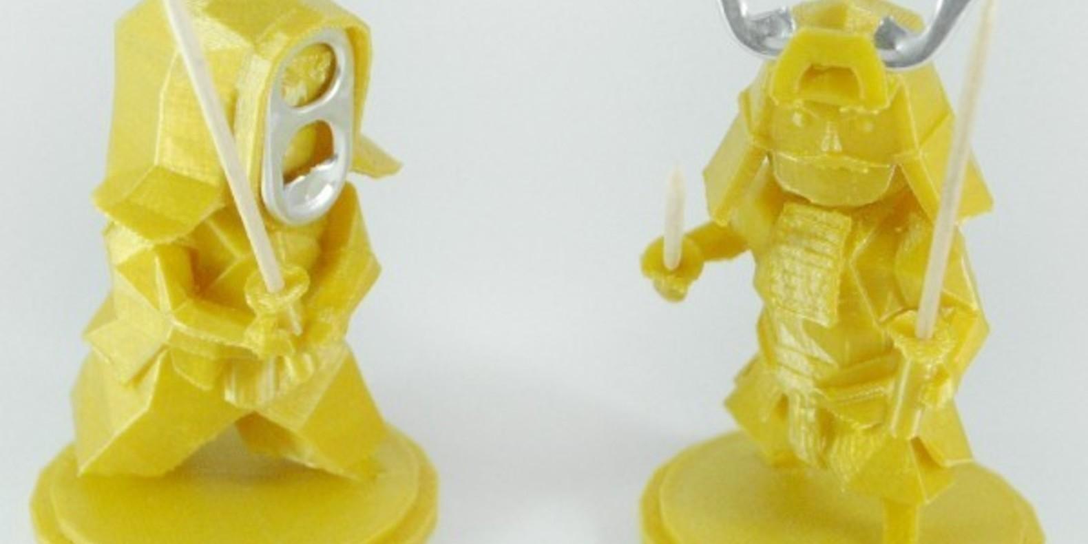 guerriers ninja cults 3D fichier 3D impression atomicosstudio tab capsule warriors 3