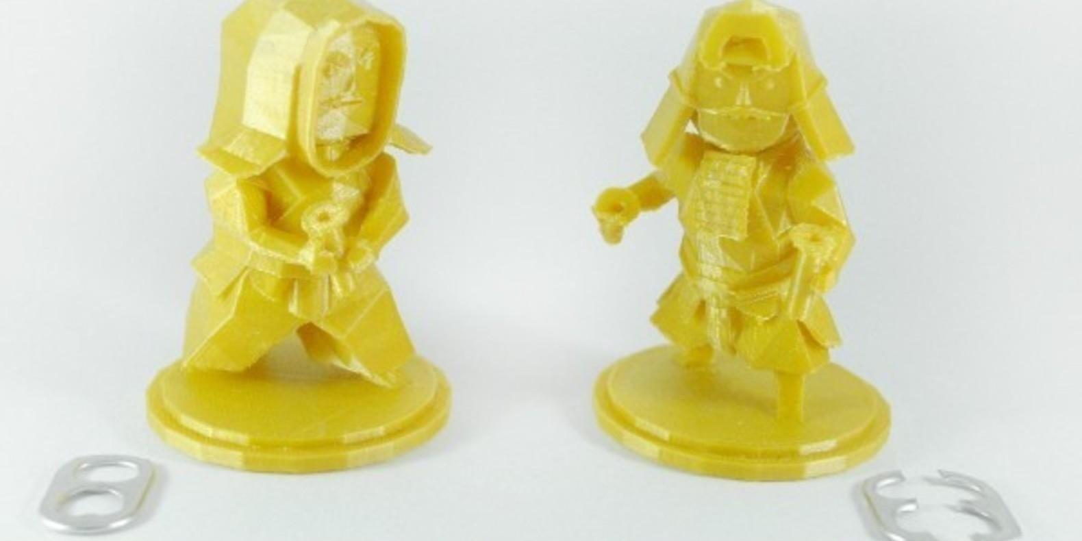 guerriers ninja cults 3D fichier 3D impression atomicosstudio tab capsule warriors 2