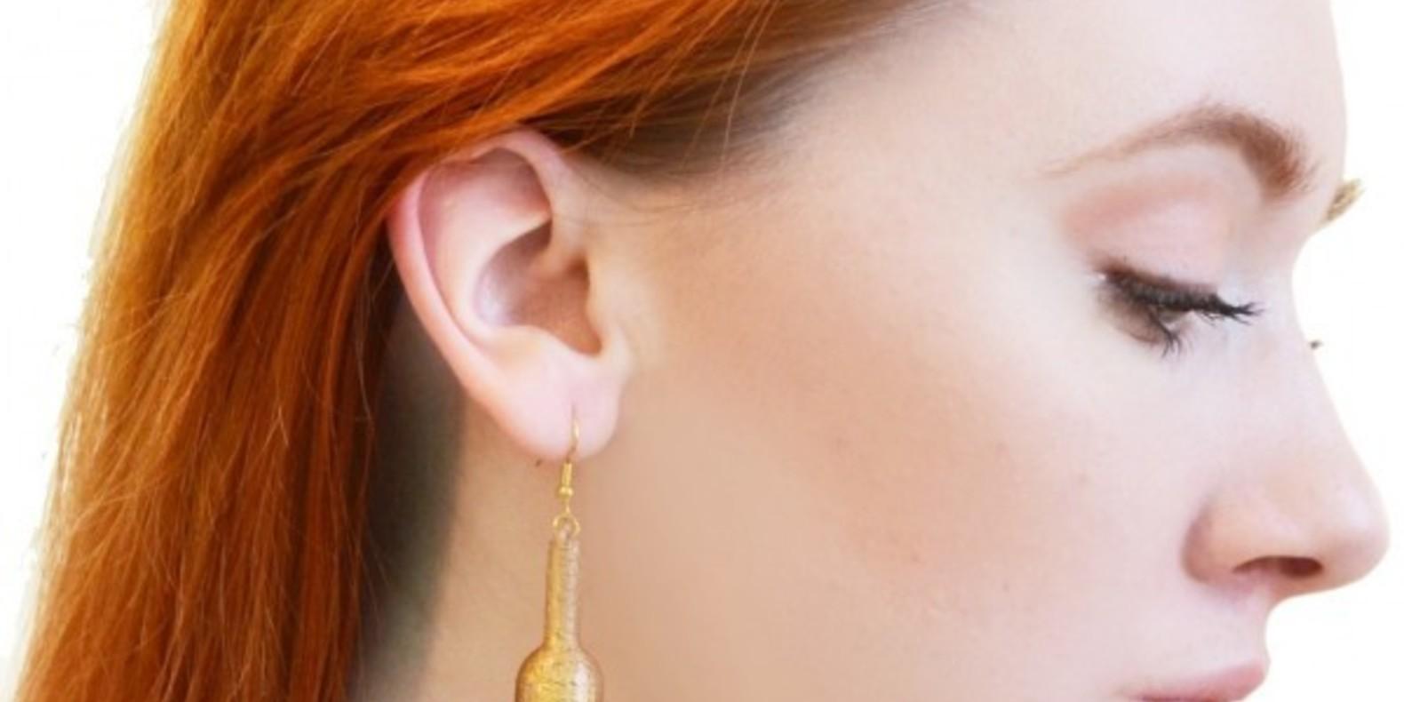 Mariann katova earing boucles d'oreilles imprimées en 3D cults 2