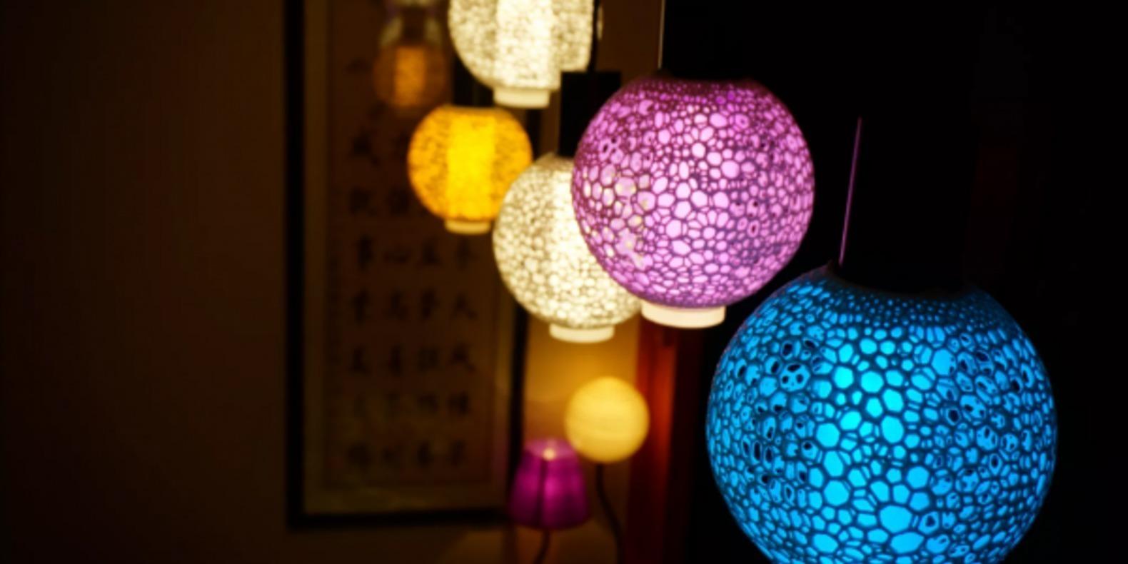 lampe sino makemakemake impression 3D fichier 3D cults 3