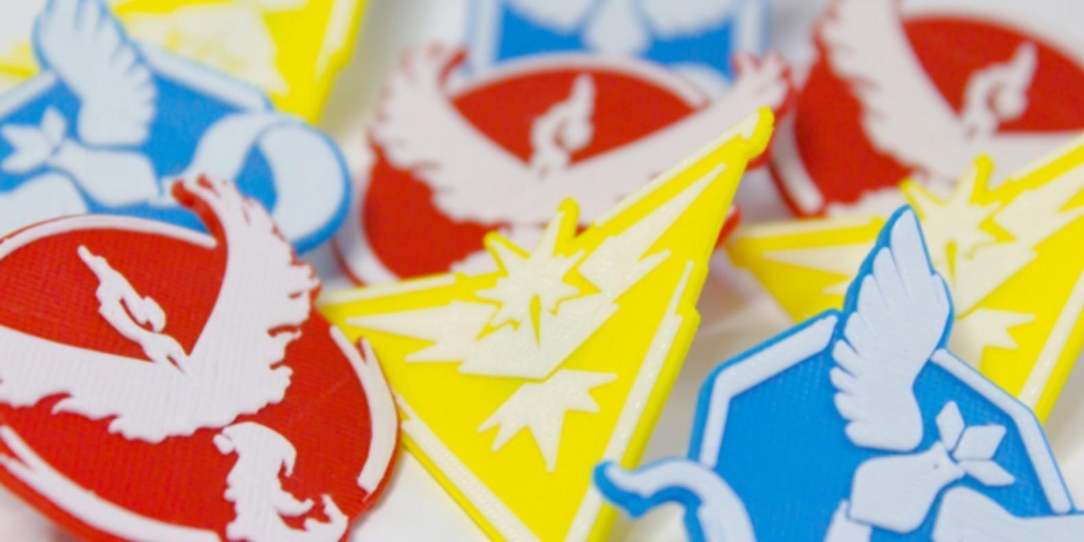 Pokemon go iphone 3D printing impression cults 3D fichier 3D lanceur figurine pikachu 6