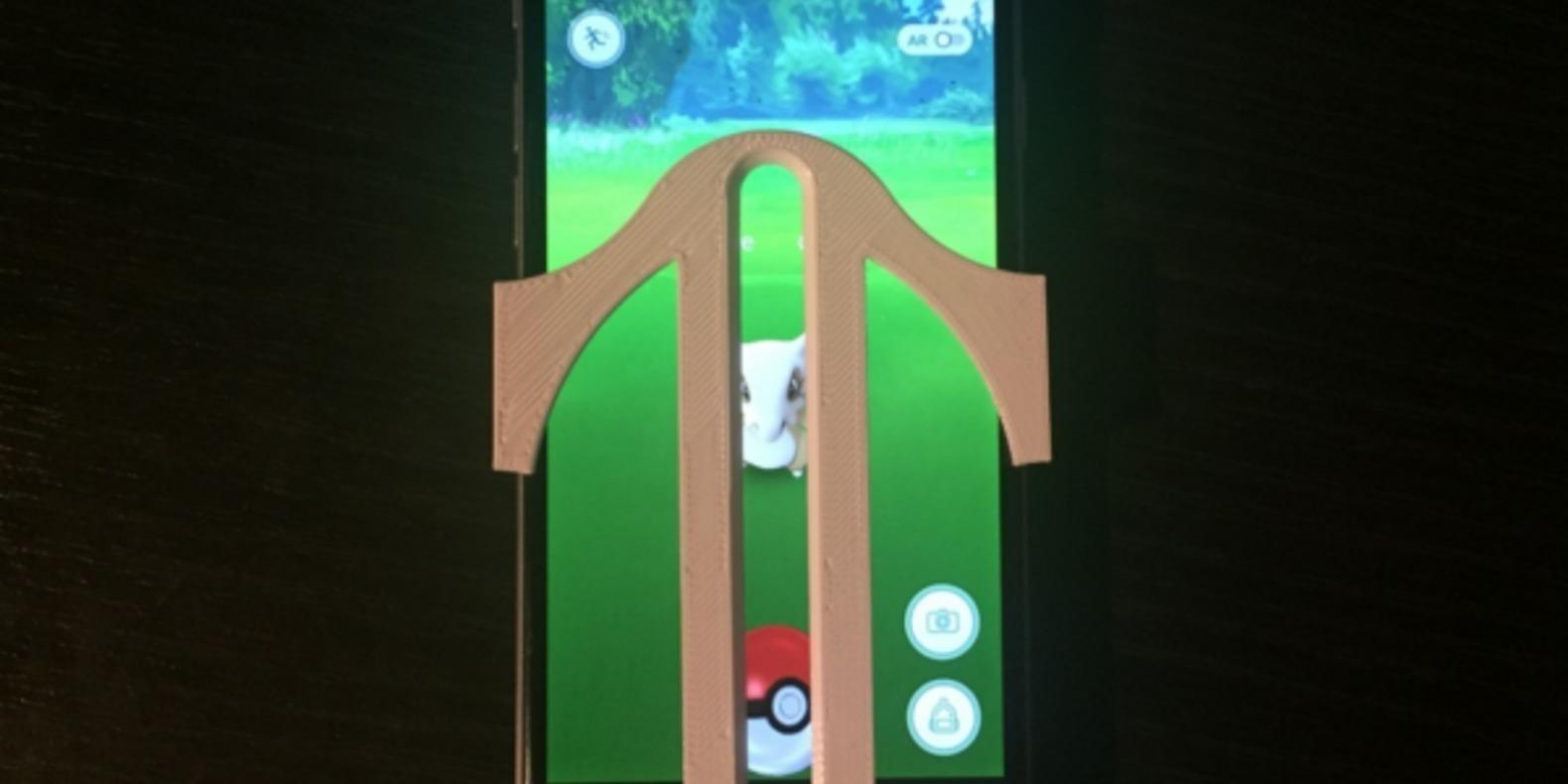 Pokemon go iphone 3D printing impression cults 3D fichier 3D lanceur figurine pikachu 9