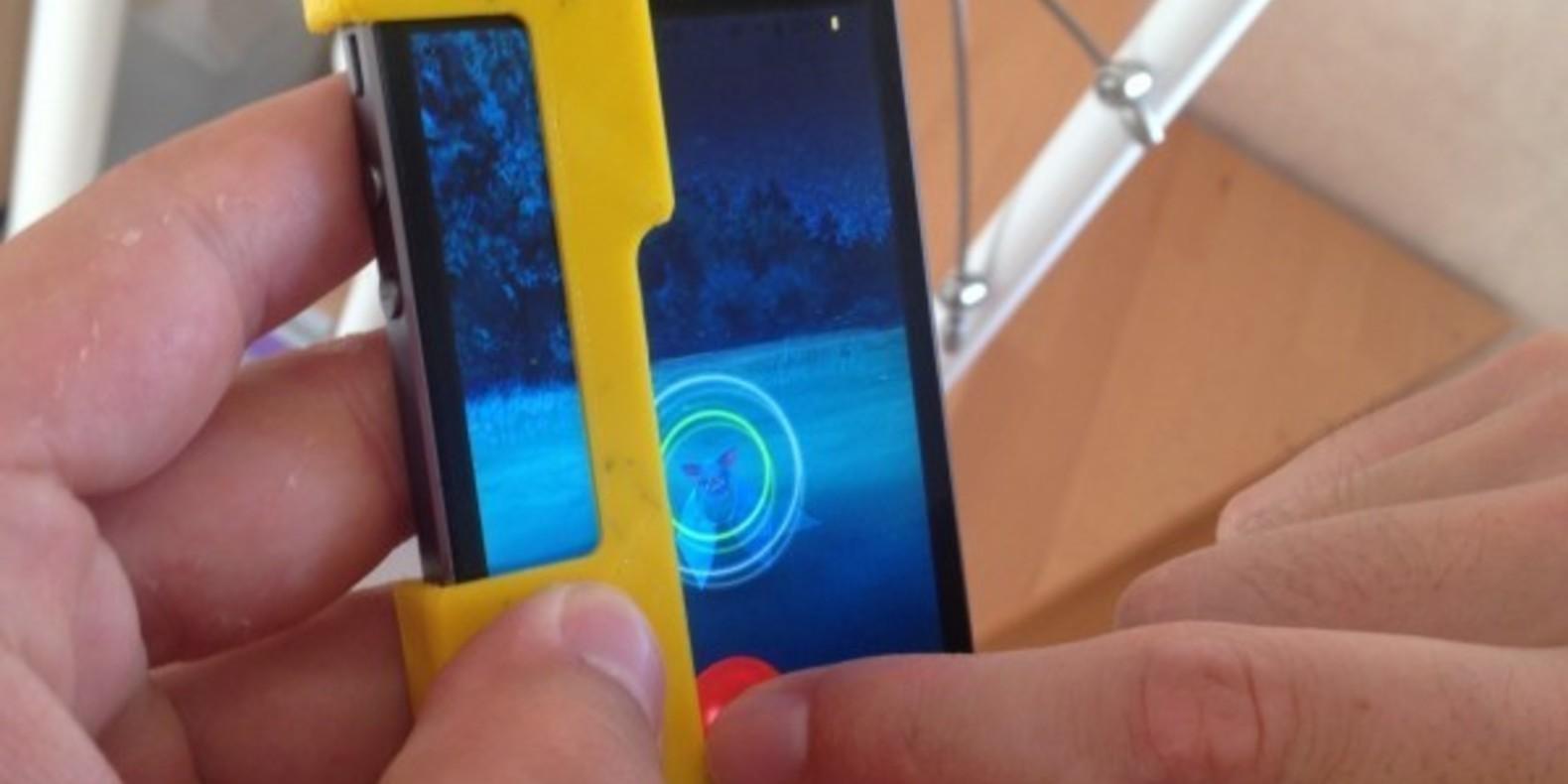 Pokemon go iphone 3D printing impression cults 3D fichier 3D lanceur figurine pikachu 11