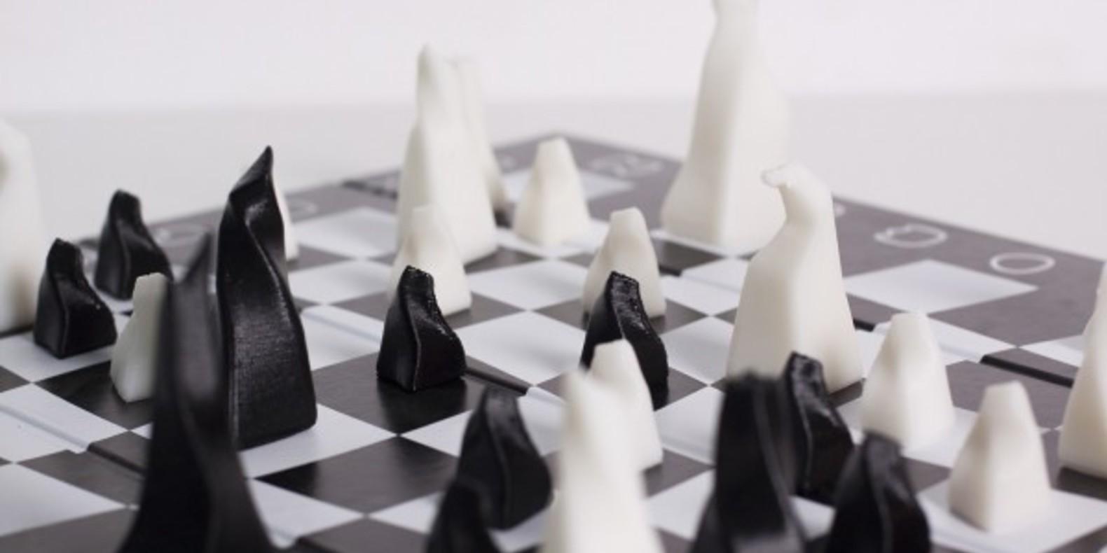 Jeu d' échecs 3D printed imprimé en 3D artur denys cults fichier 3D STL