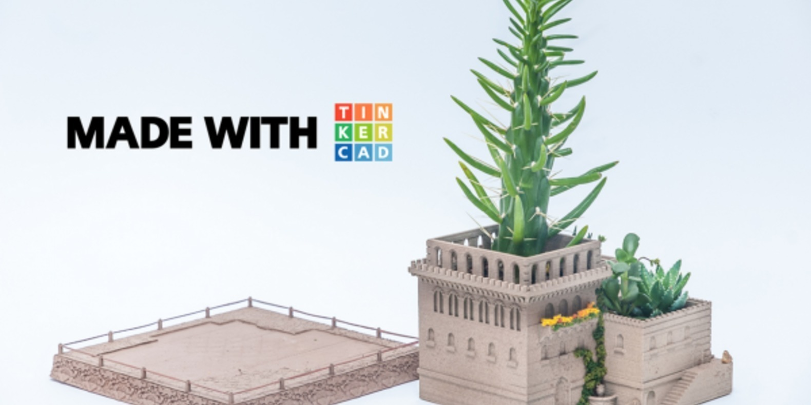 YURIYSKLYAR planter tinkercad makerbot fichier 3D cults 4