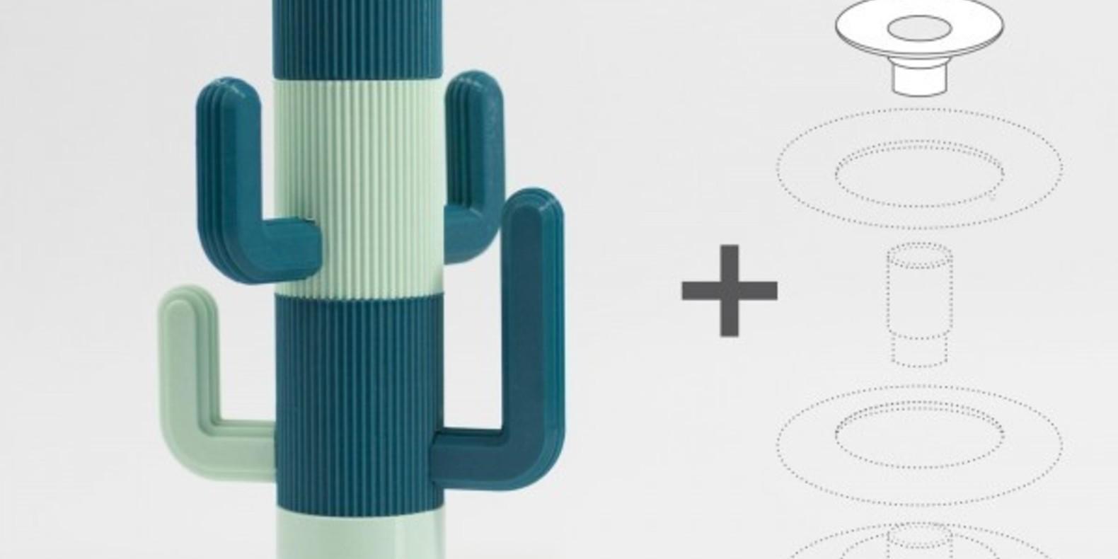 UAU Project eumakers eumakeit cults fichier 3D cactus stand pour bijoux 3