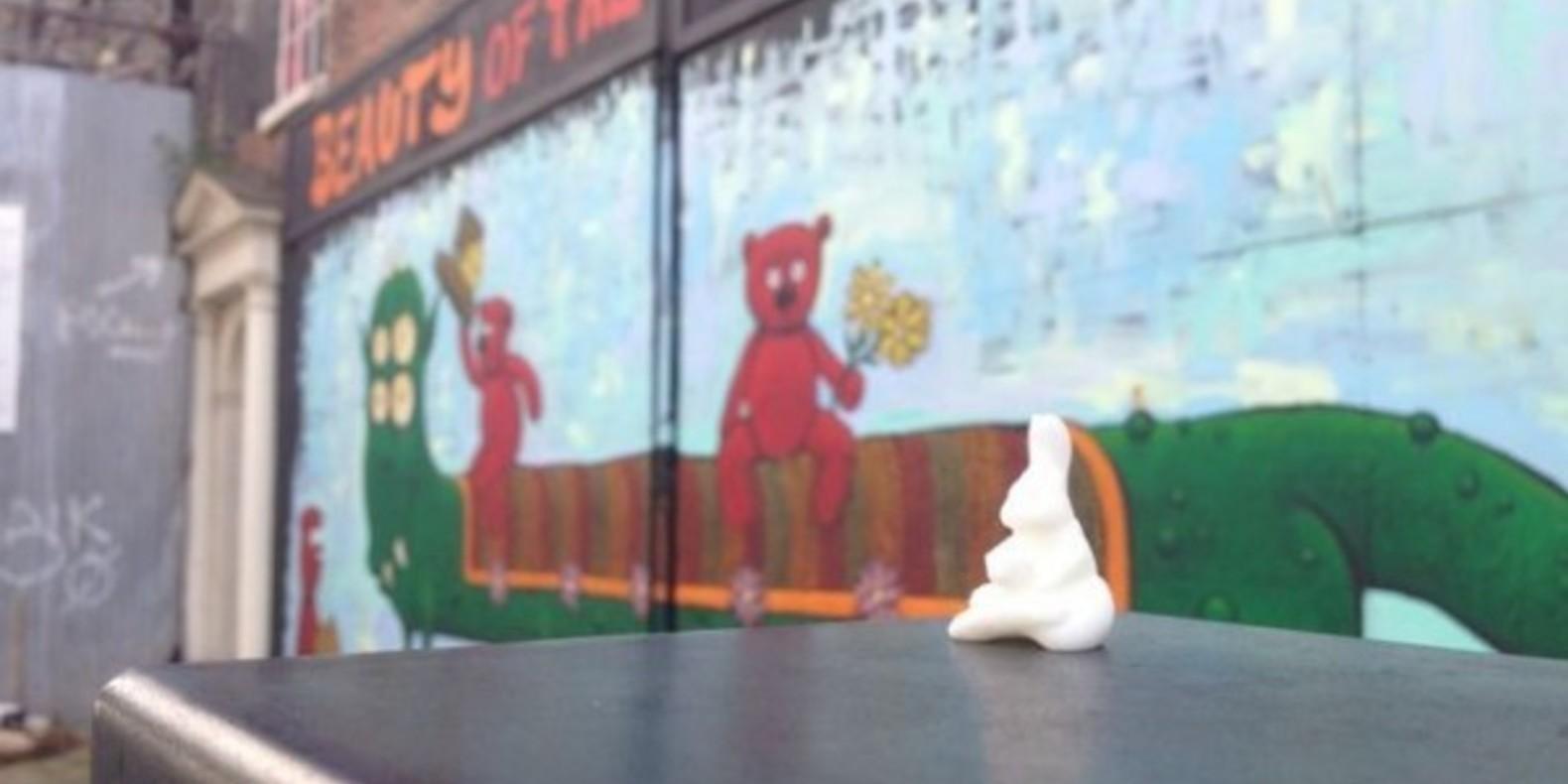 mysterabbit impression 3D Ji Lee cults lapins fichier 3D street marketing 4