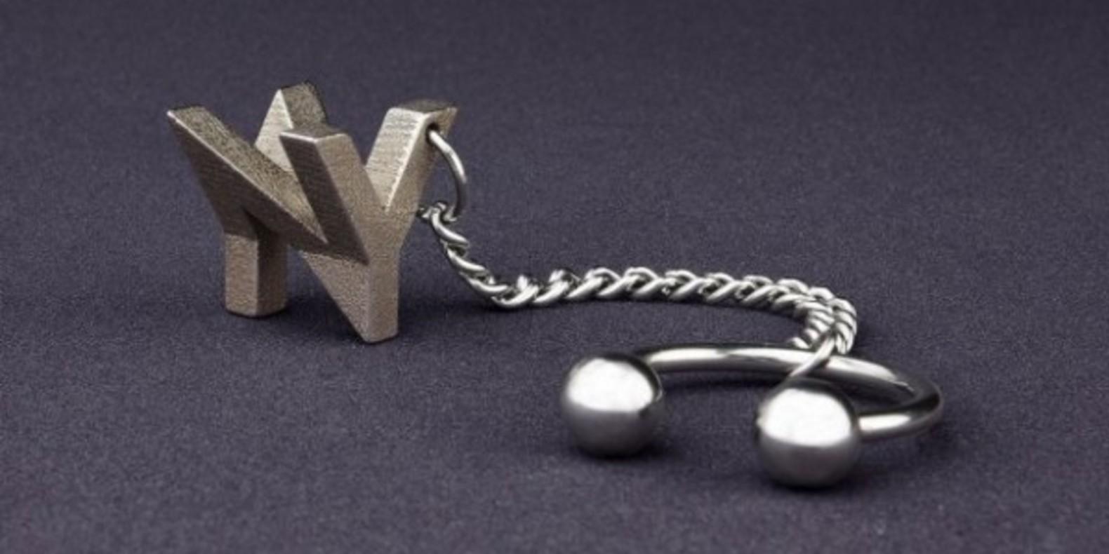 mymo monogramme en bijou impression 3D cults fichier 3D ultravigo pendentif collier