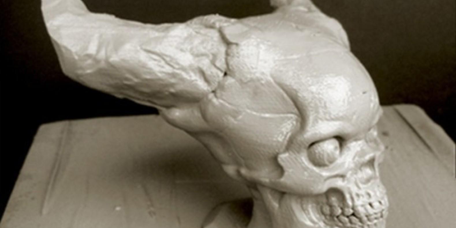 7.1 Hell Skull - Olas Undberg - Cults crânes imprimés en 3D