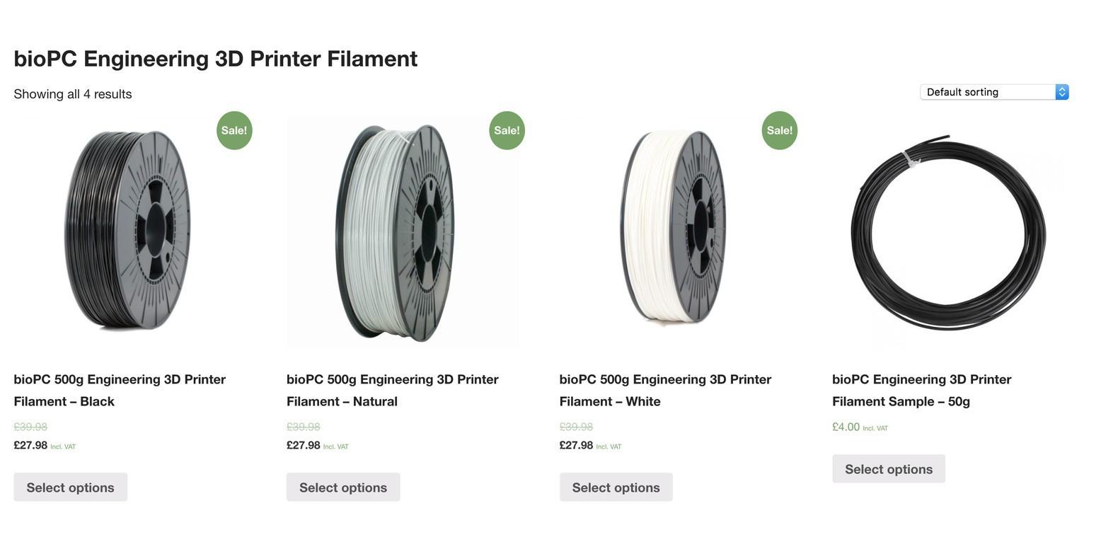 Presentamos bioPC - el mejor filamento de impresora 3D para aplicaciones de ingeniería en impresión 3D