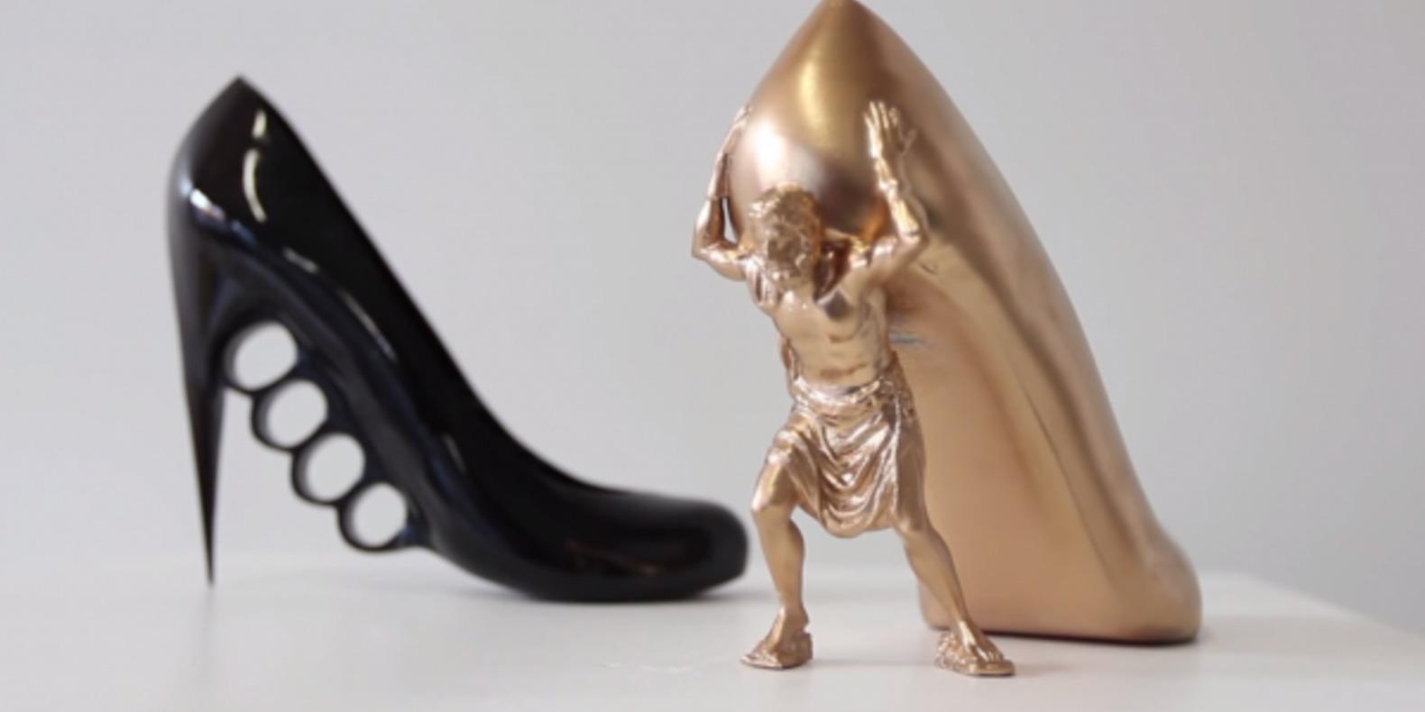 sebastian errazuriz shoe 3D print cults chaussures imprimees en 3D makerbot melissa designer 3D 12