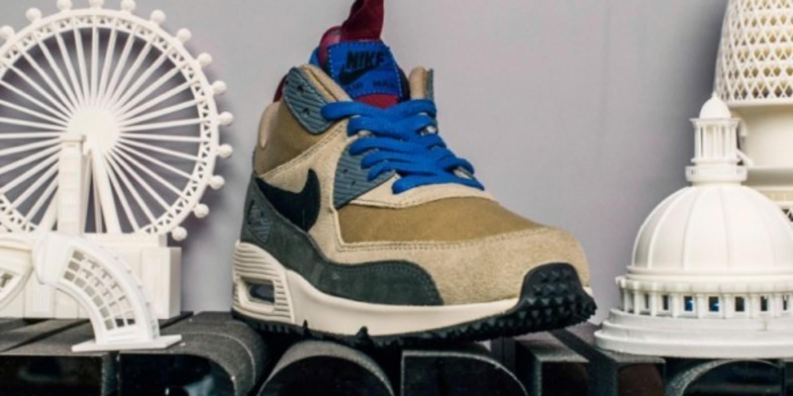 Nike imprime en 3D sneakerboots event modla rosie lee london paris londres cults3D cults impression 3D printed printing