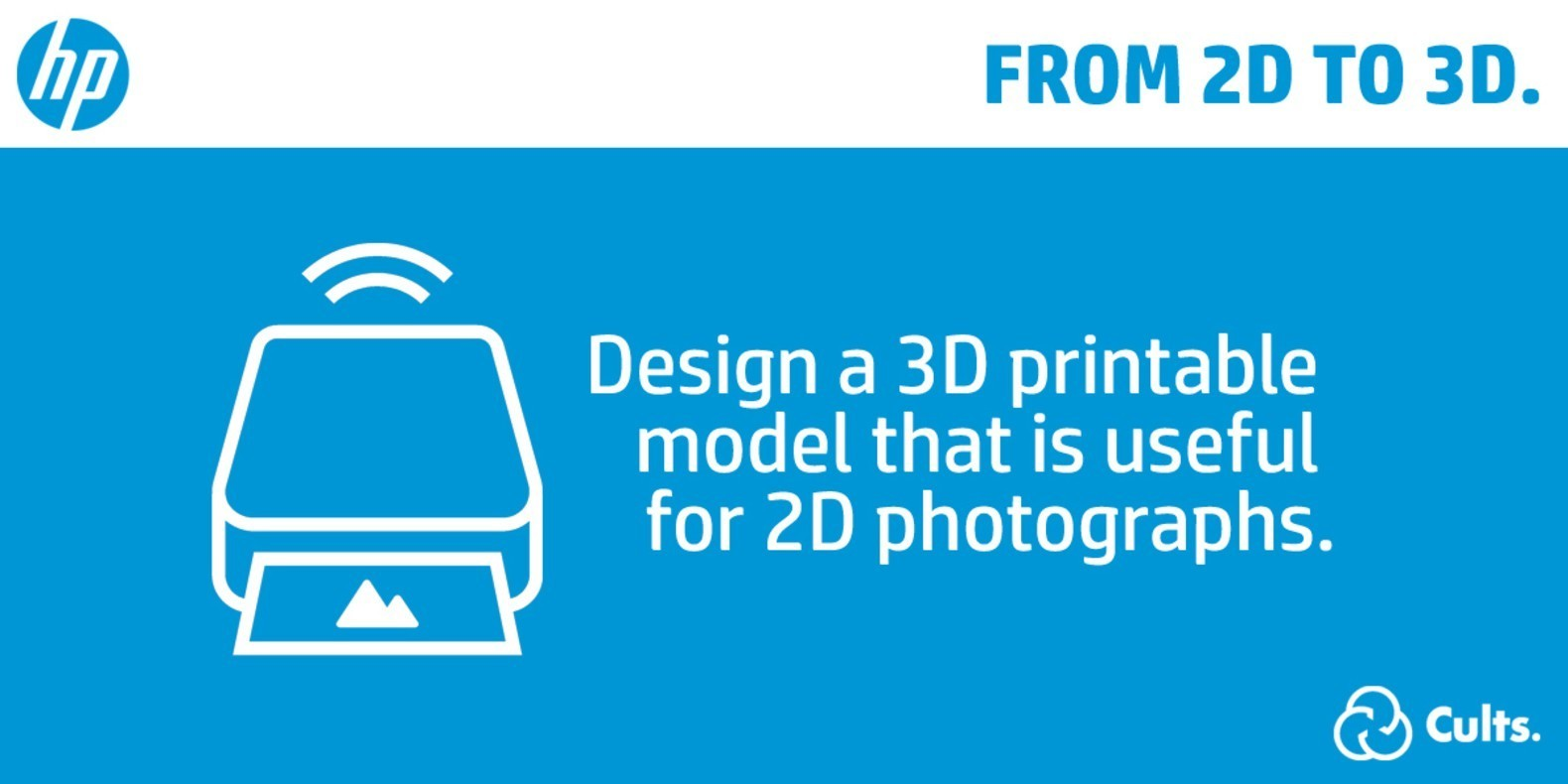From 2D to 3D Contest - HP 3D Printing
