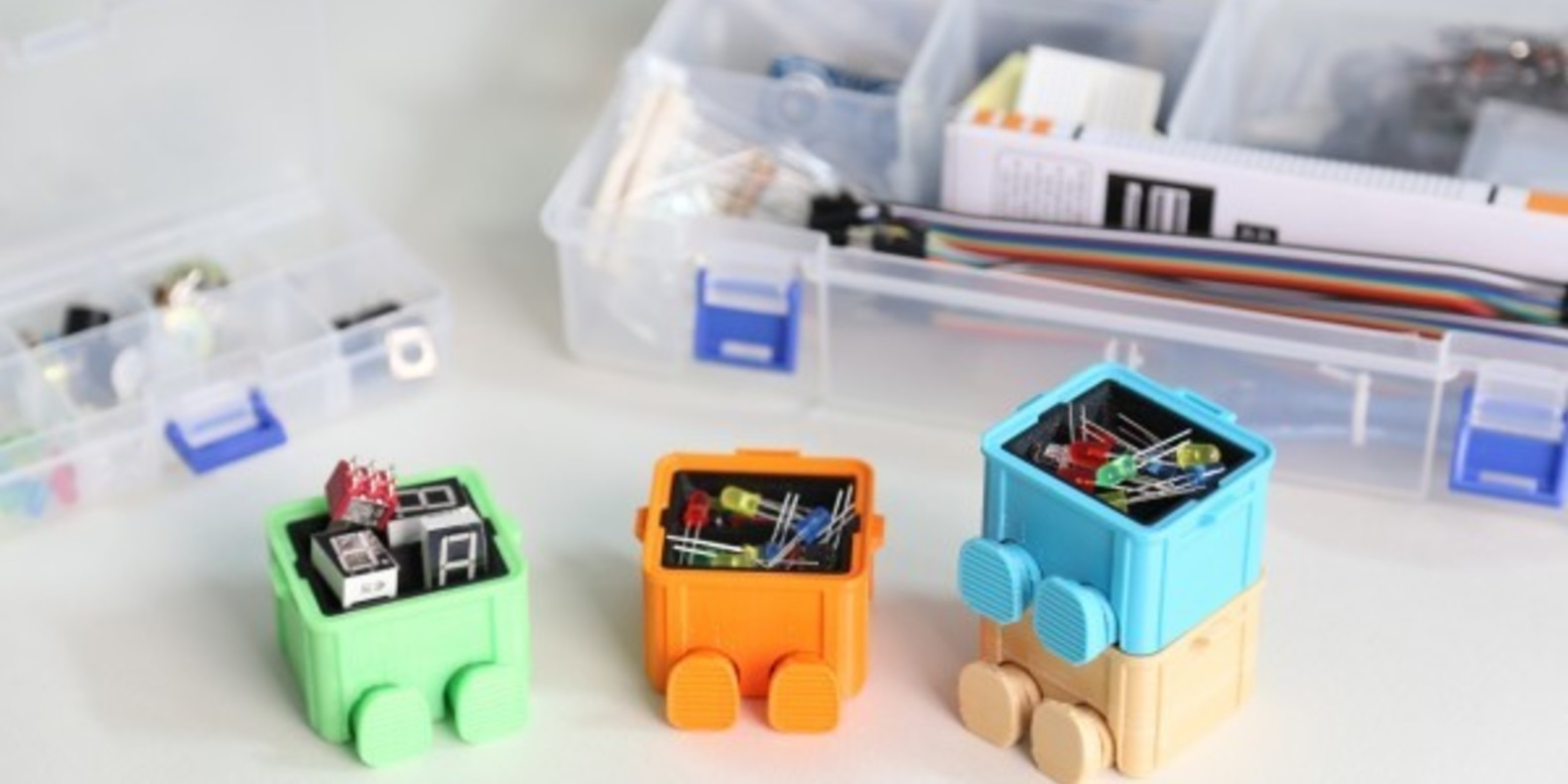 Step box step boite a outils tool box 3D printed 3D printing imprimée en 3D impression 3D Cults 2