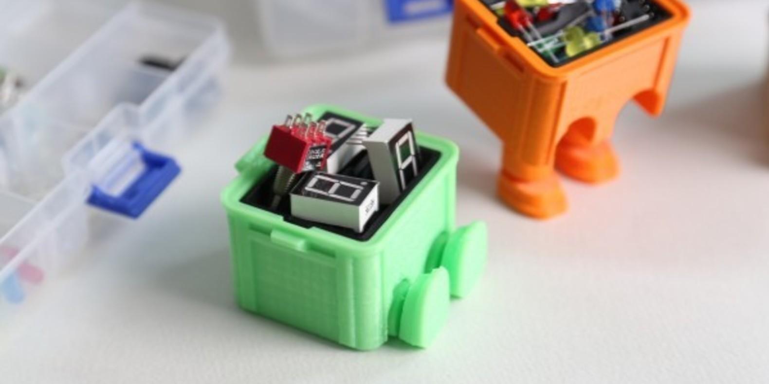 Step box step boite a outils tool box 3D printed 3D printing imprimée en 3D impression 3D Cults 3