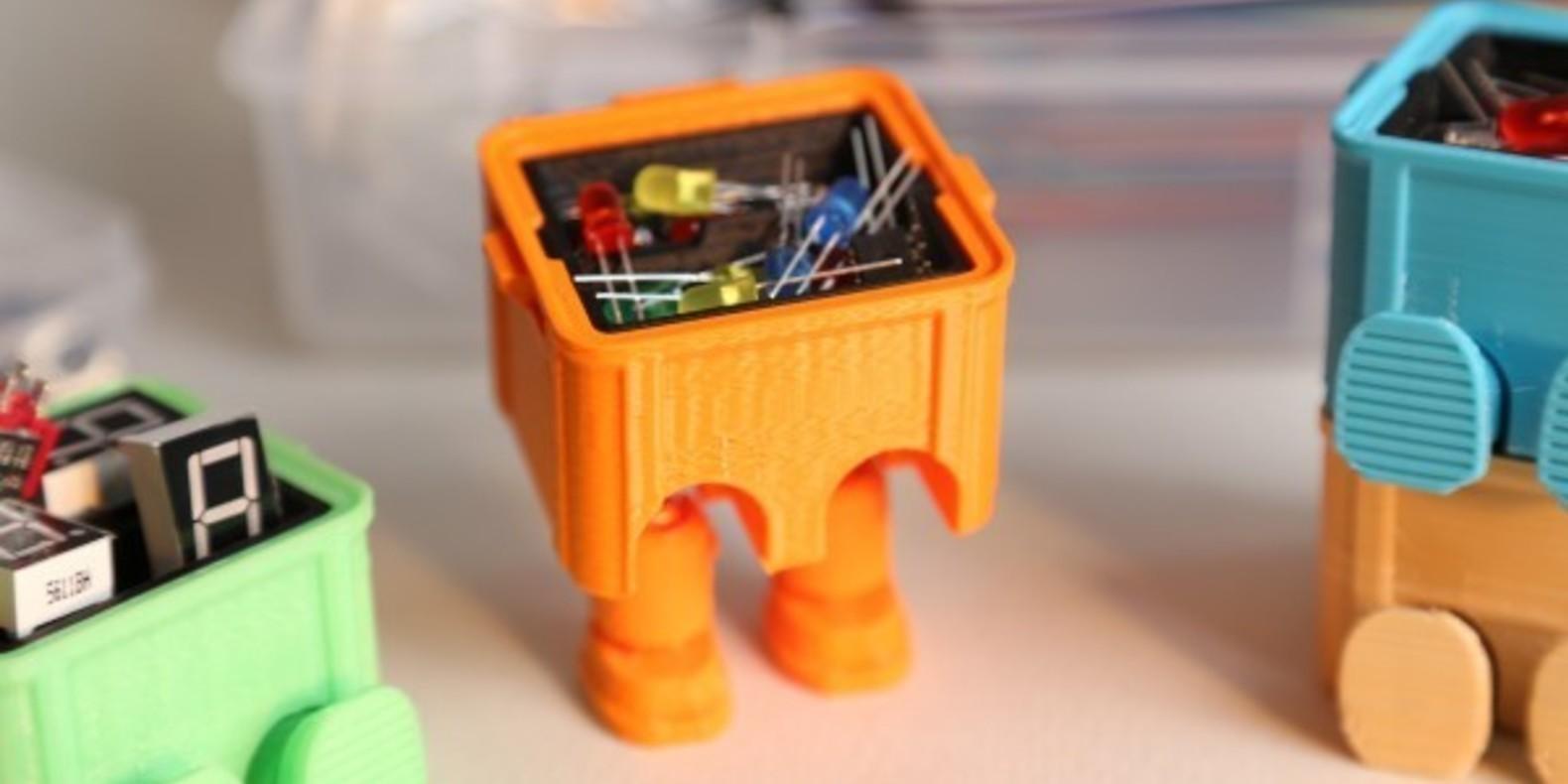 Step box step boite a outils tool box 3D printed 3D printing imprimée en 3D impression 3D Cults 4