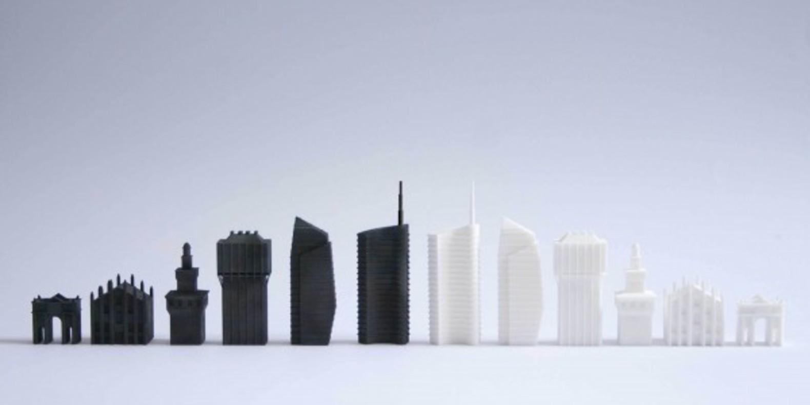 3D printed chess set imprimé en 3D jeu d'échecs cults fichier STL davide chiesa