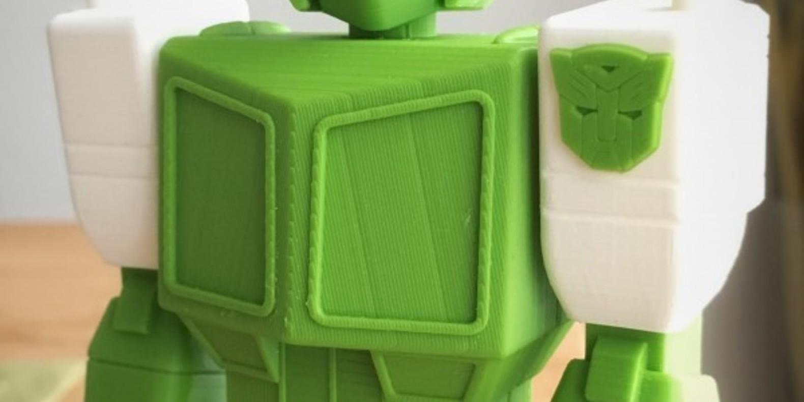 Optimus Prime imprimé en 3D transformers action masters 3D printed fichier STL guvrnor cults