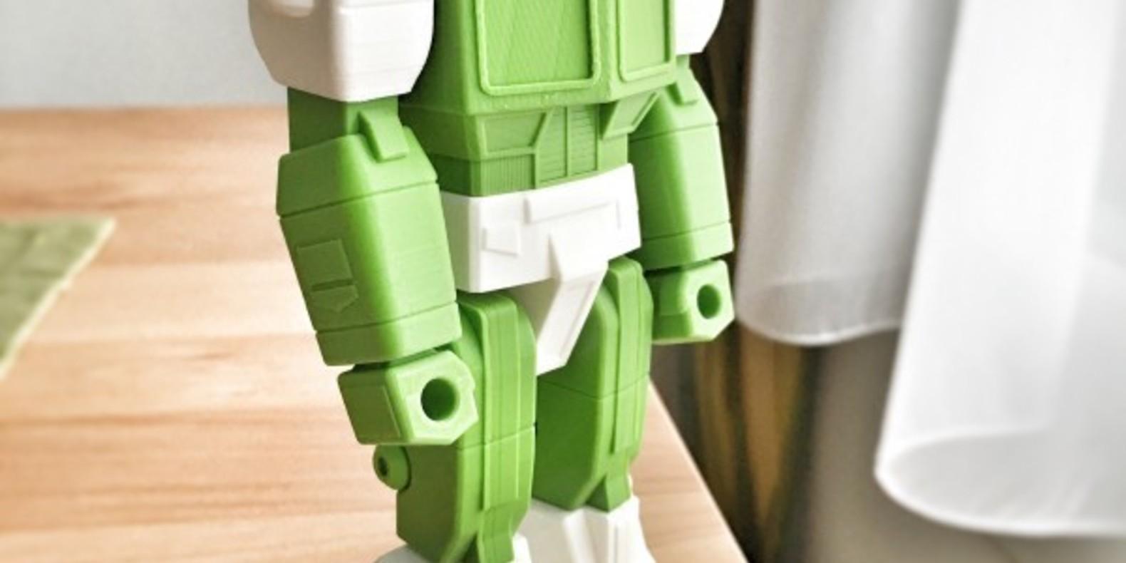 Optimus Prime imprimé en 3D transformers action masters 3D printed fichier STL guvrnor cults 3