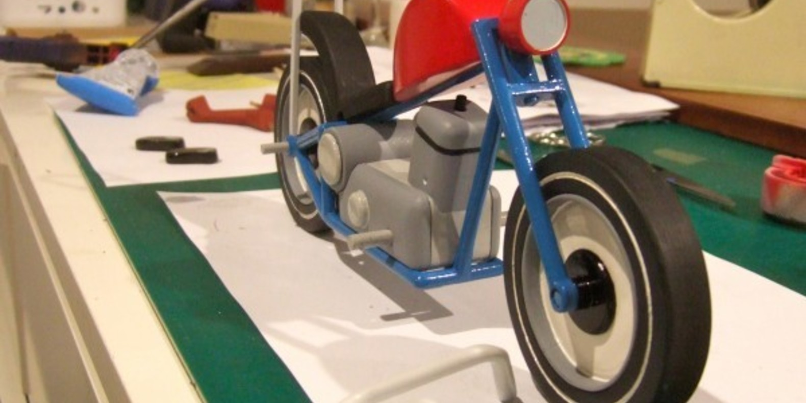 russell tate stay true motorcycle bike biker cults fichier 3D modèle 3D STL 3D printing 4