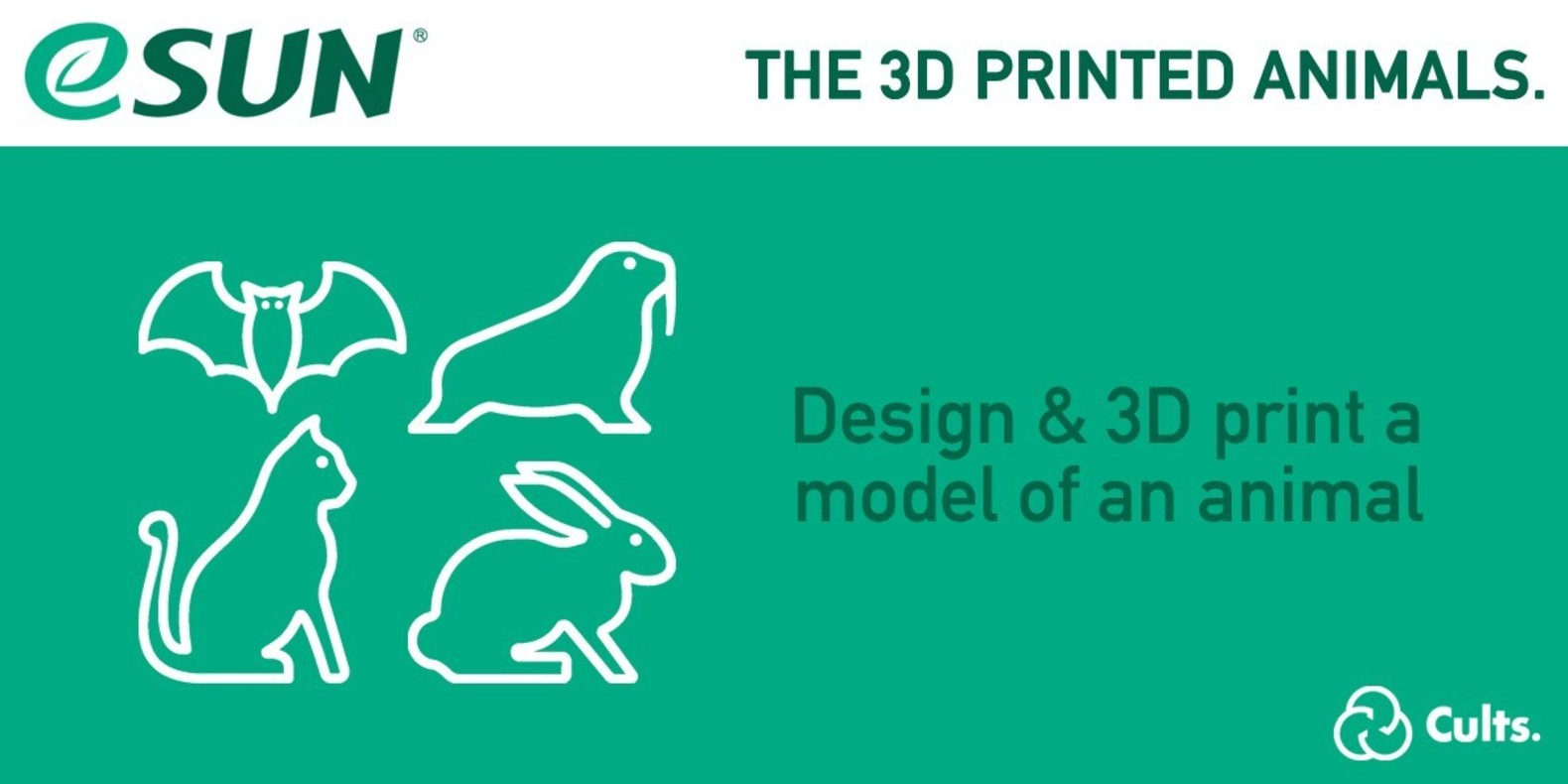 3D printing contest with eSun - the 3D printed animals