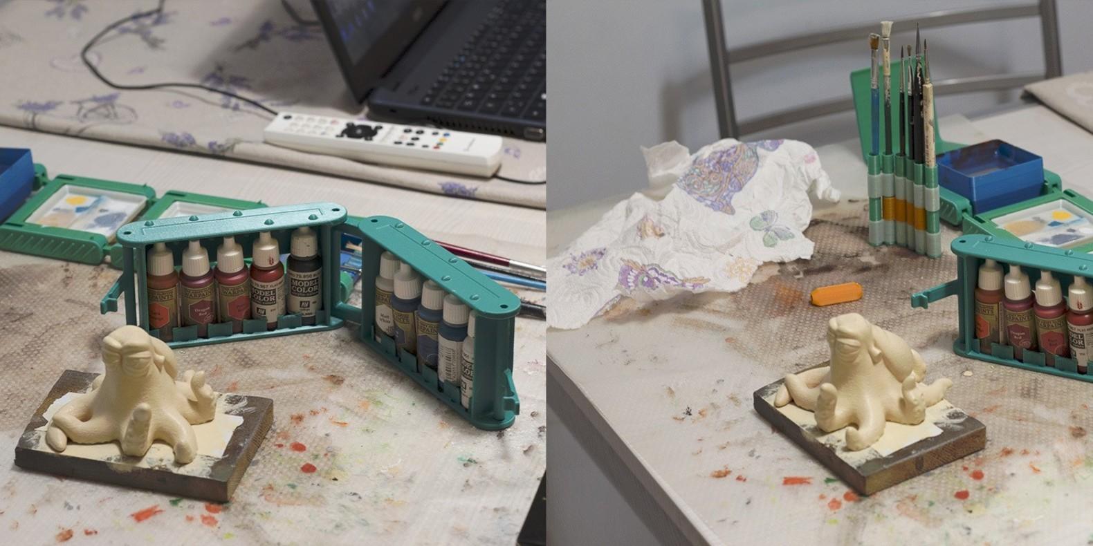 paint a 3D print 4
