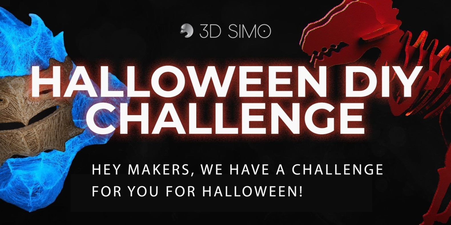 3D Simo Halloween 3D printing DIY contest