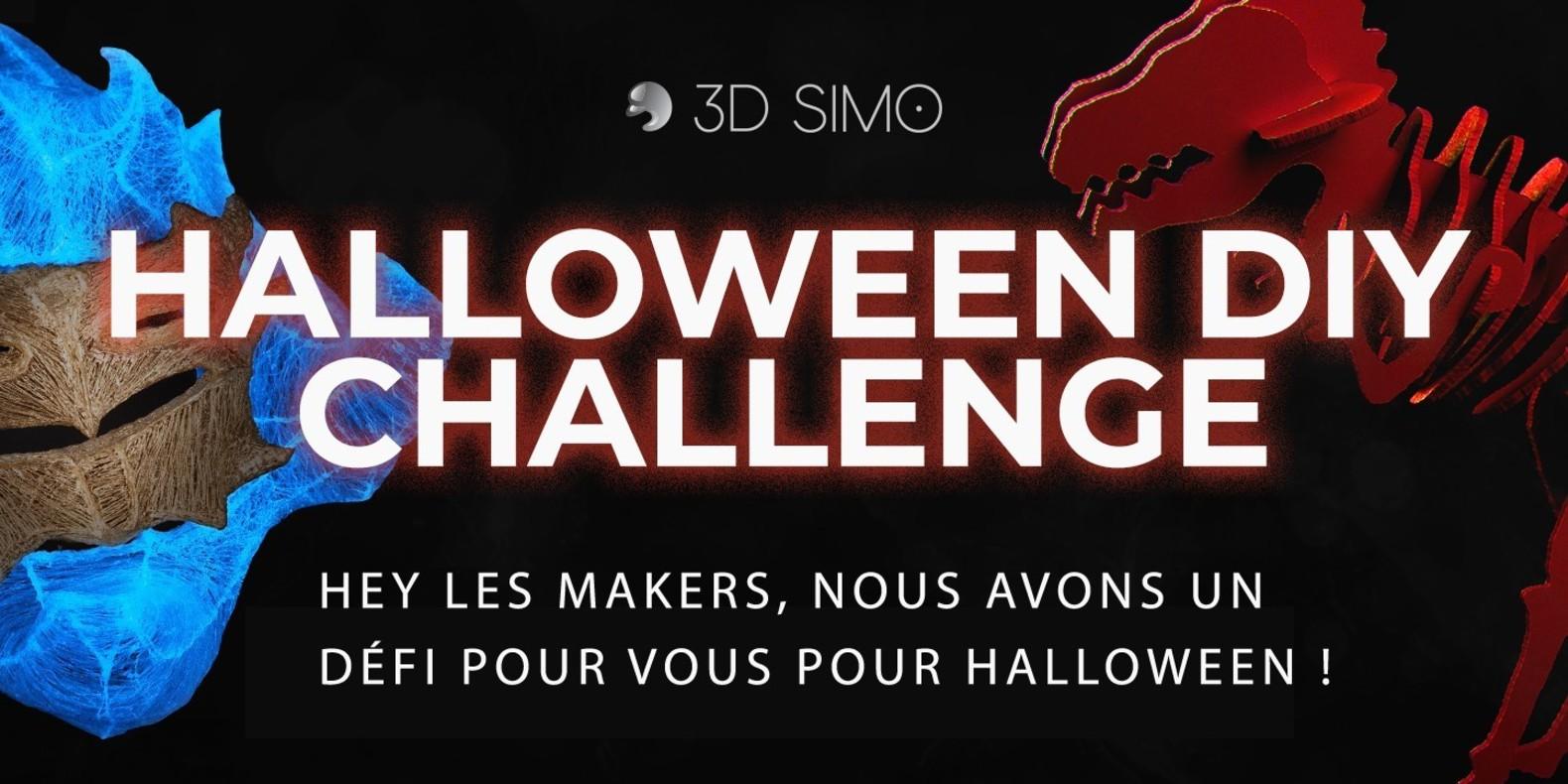 3D Simo Halloween Concours Impression 3D Bricolage