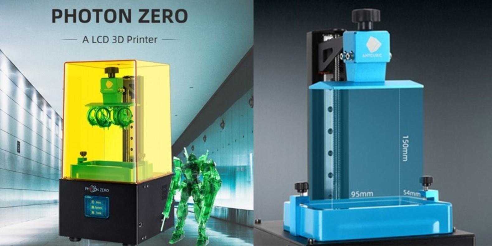 Une imprimante 3D en résine d'entrée de gamme abordable pour presque tous les budgets ? Voici l'Anycubic Photon Zero !