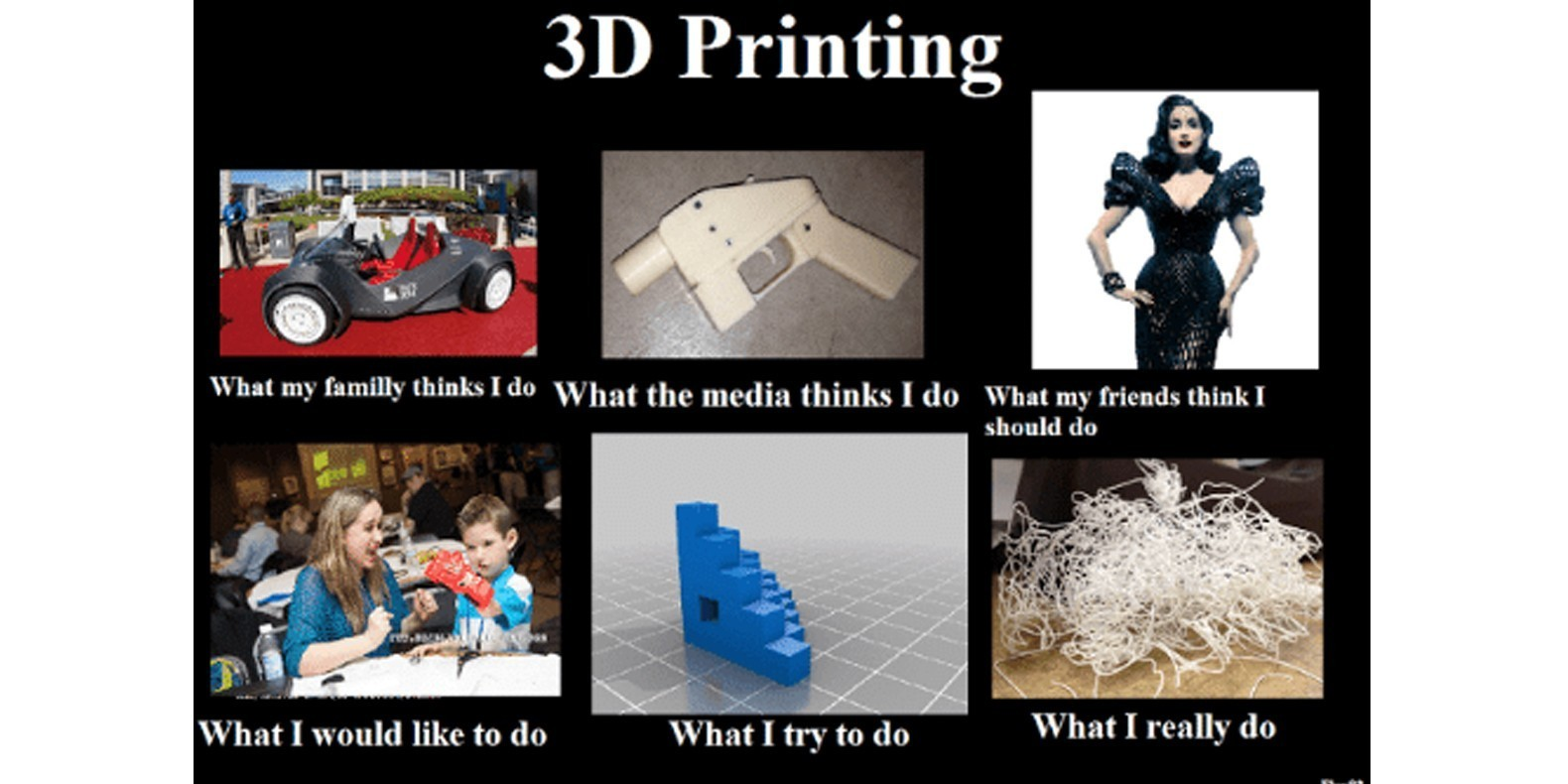 meilleur meme blague impression 3D