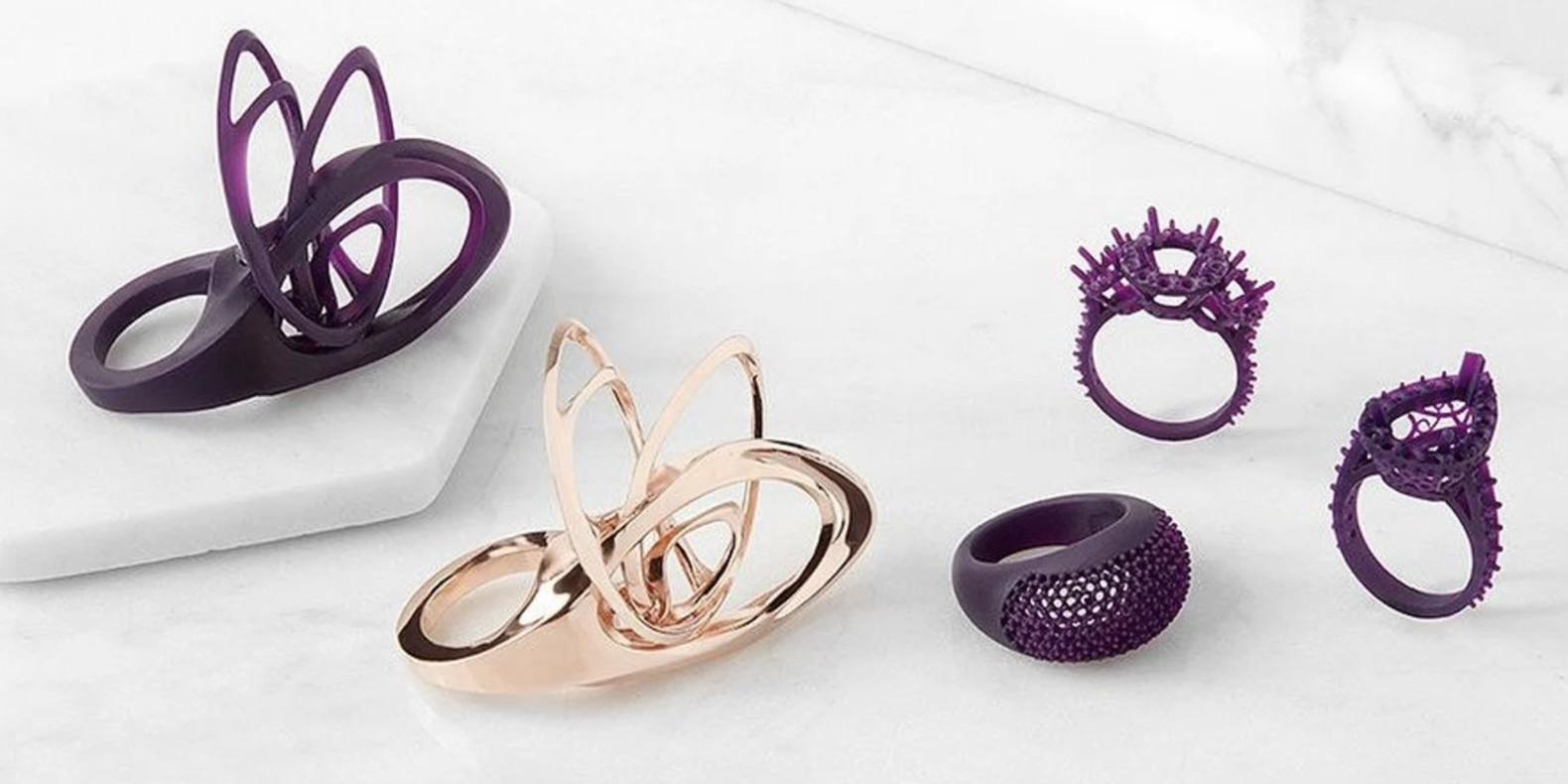 The challenge of design and 3D printing about Jewellery