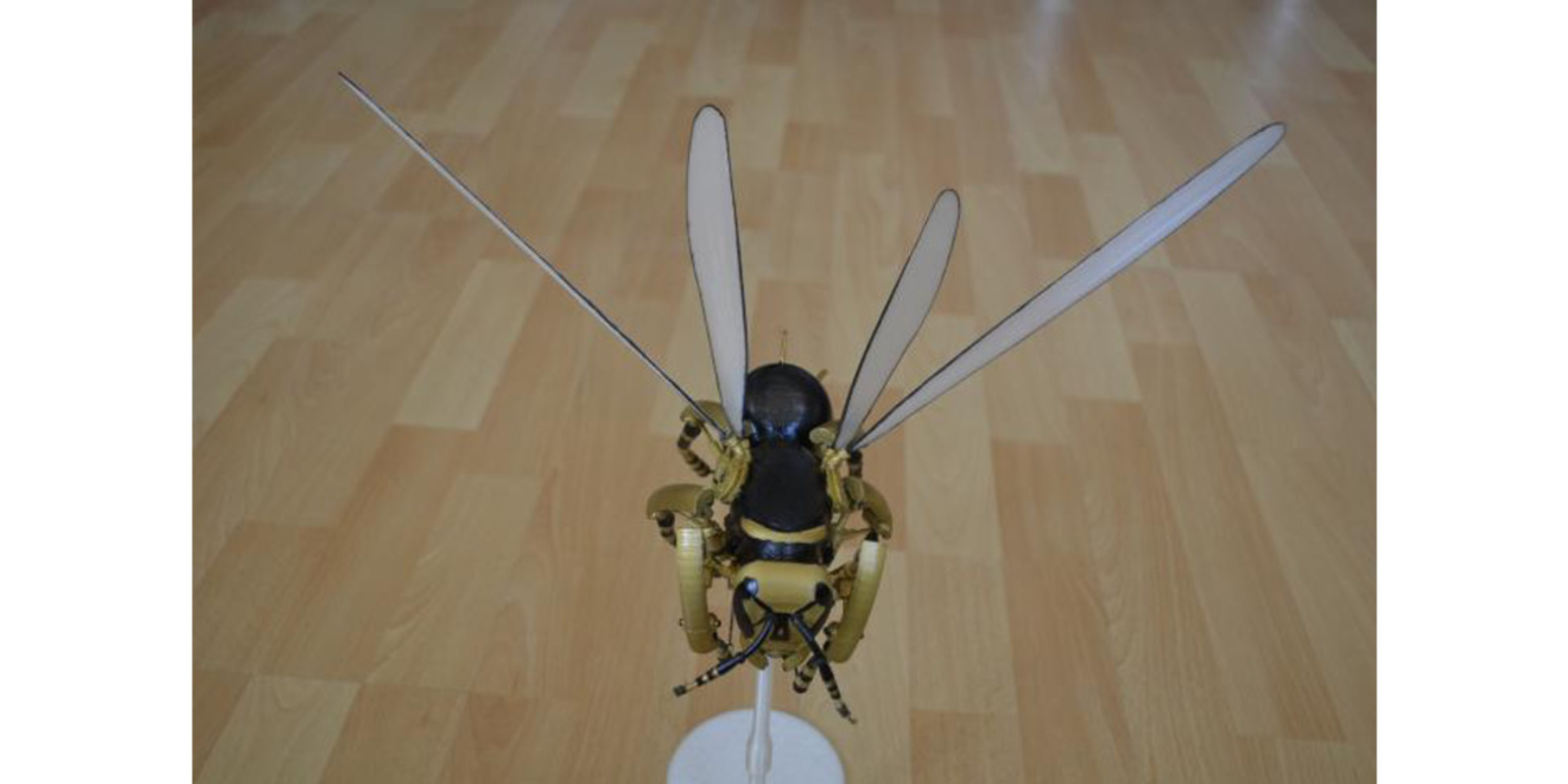 The 3D Printed Robotic Wasp