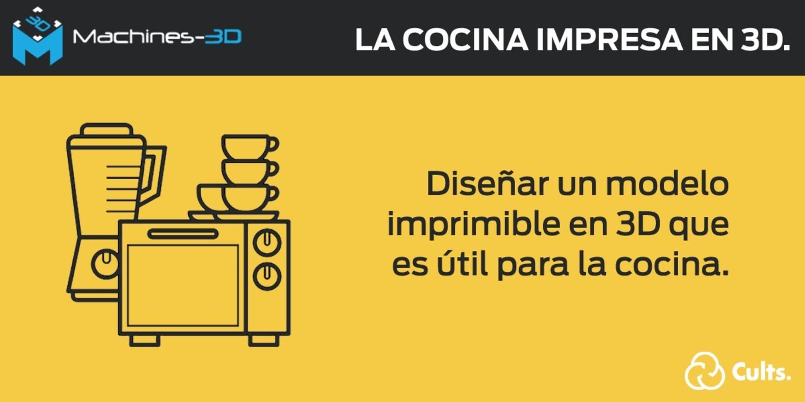 Concurso Impresión 3D Cocina Machines-3D