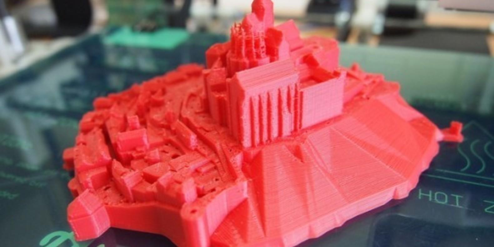 mont saint michel cults fichier 3D impression 3D imprimante shakera maker thingiverse 1