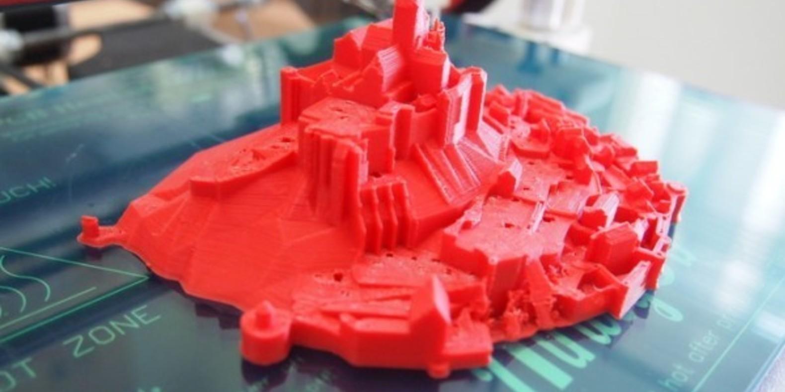 mont saint michel cults fichier 3D impression 3D imprimante shakera maker thingiverse 2