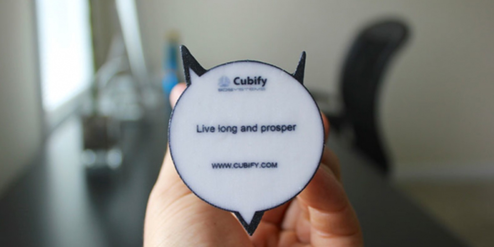 cubify 3D systems star trek 3DME impression 3D fugurines personnalisation cults fichier 3D 4