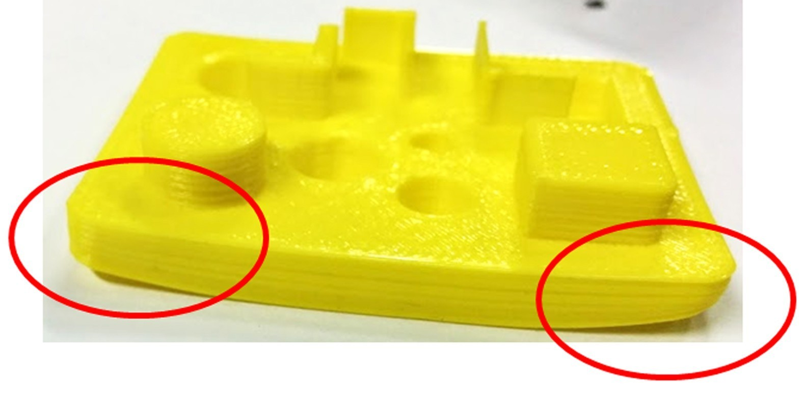 warping 3D printing