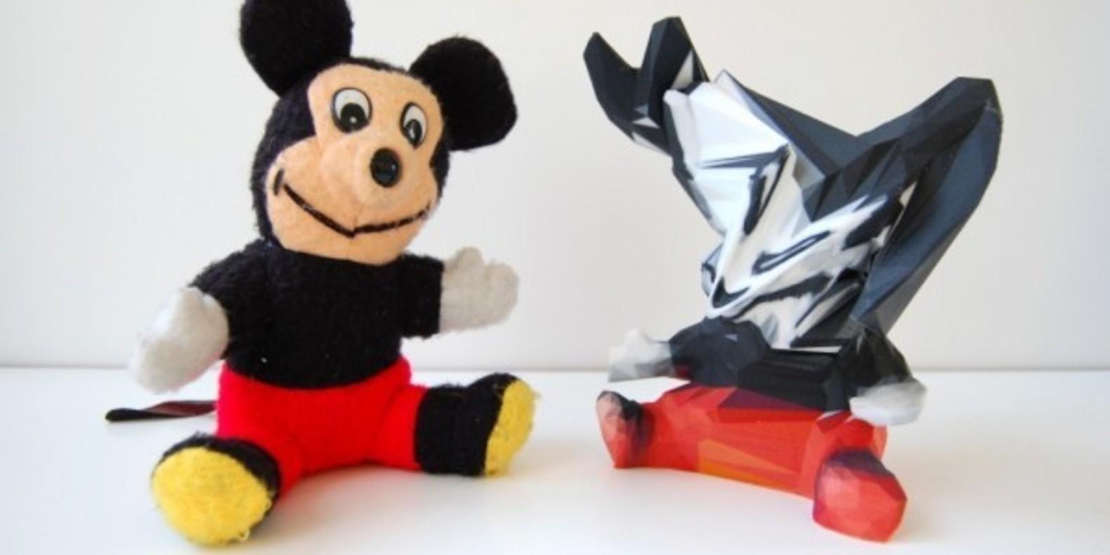 sekuMoiMecy Matthew Plummer-Fernandez impression 3D printing cults fichier mickey mouse 6