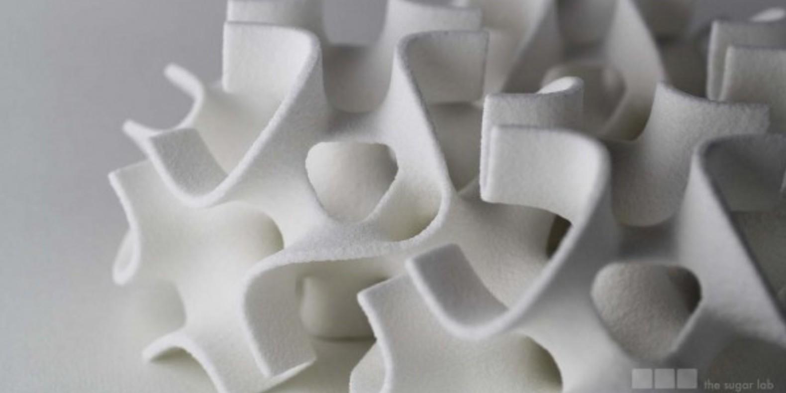 sculptures de sucre the sugar lab cults fichier 3D imprimante 3D patisserie cuisine 3D gateau
