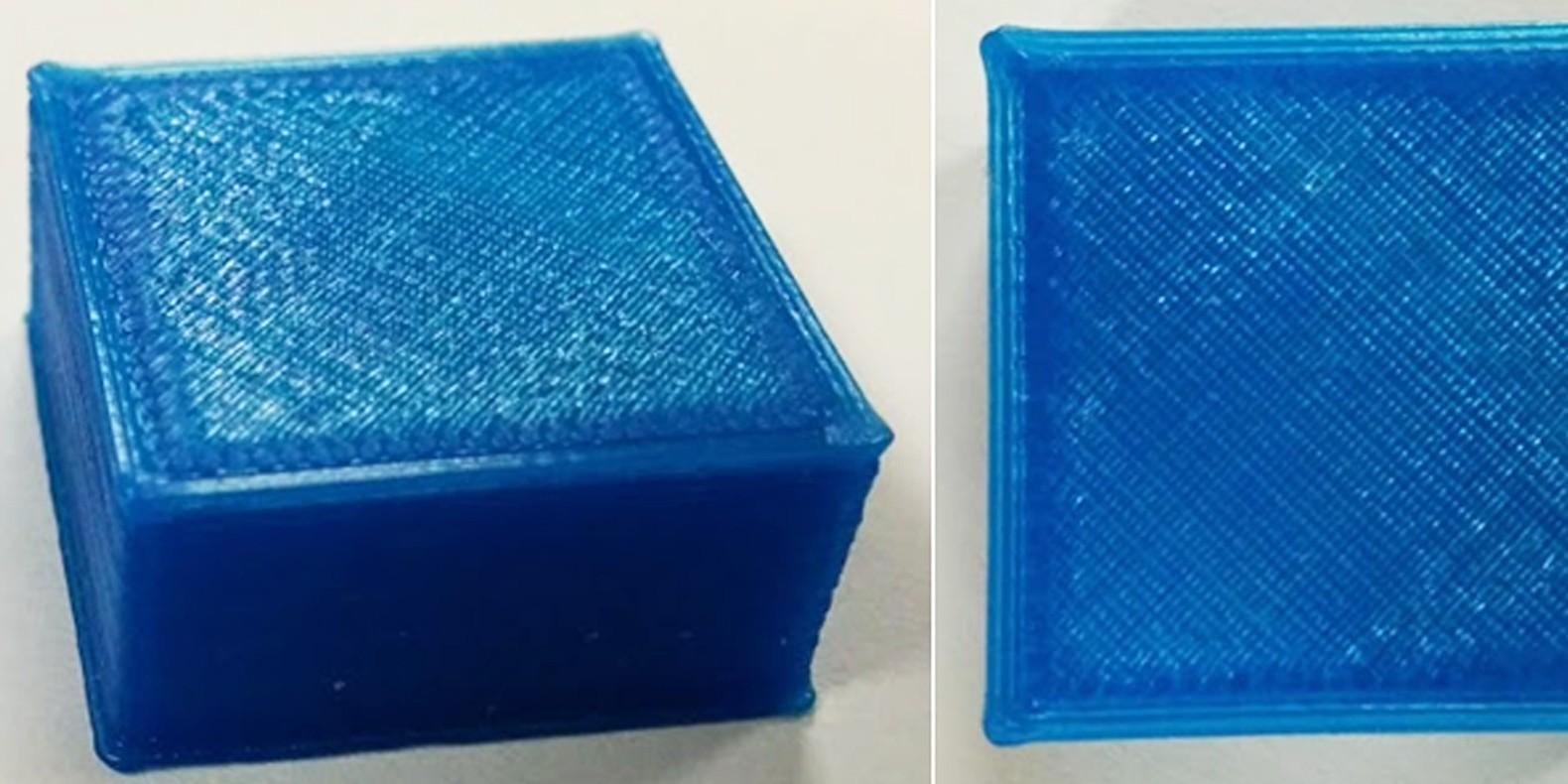 angles arrondis 3D printing