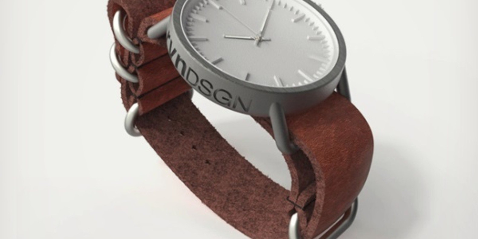 rvndsgn printed 3D printing watch montre impression fichier 3D cults cults3D 1
