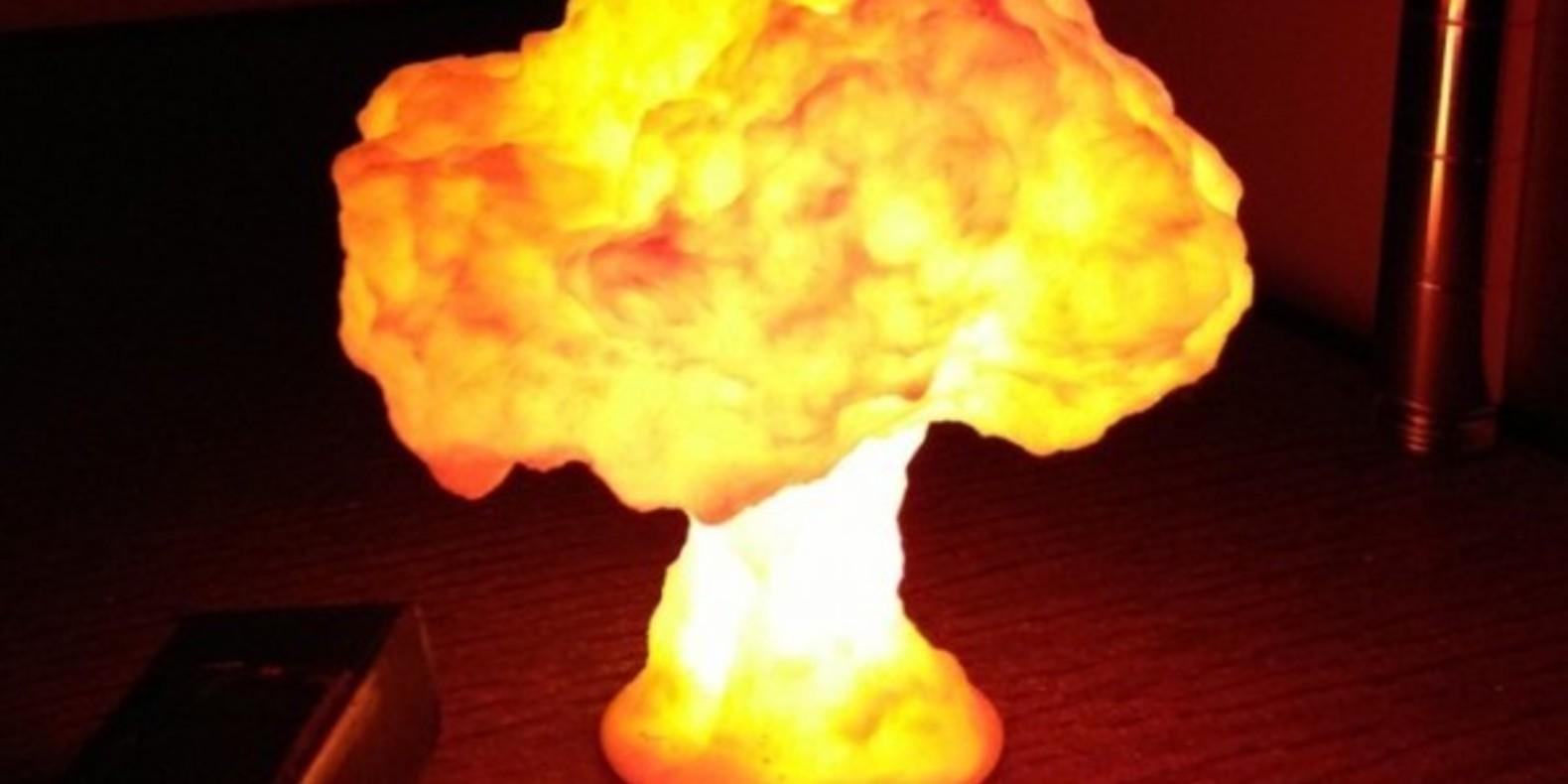 maxim sachs nuclear cloud nuage nucléaire en 3D fichier 3D cults 3D cults designer createur objet lampe led 4