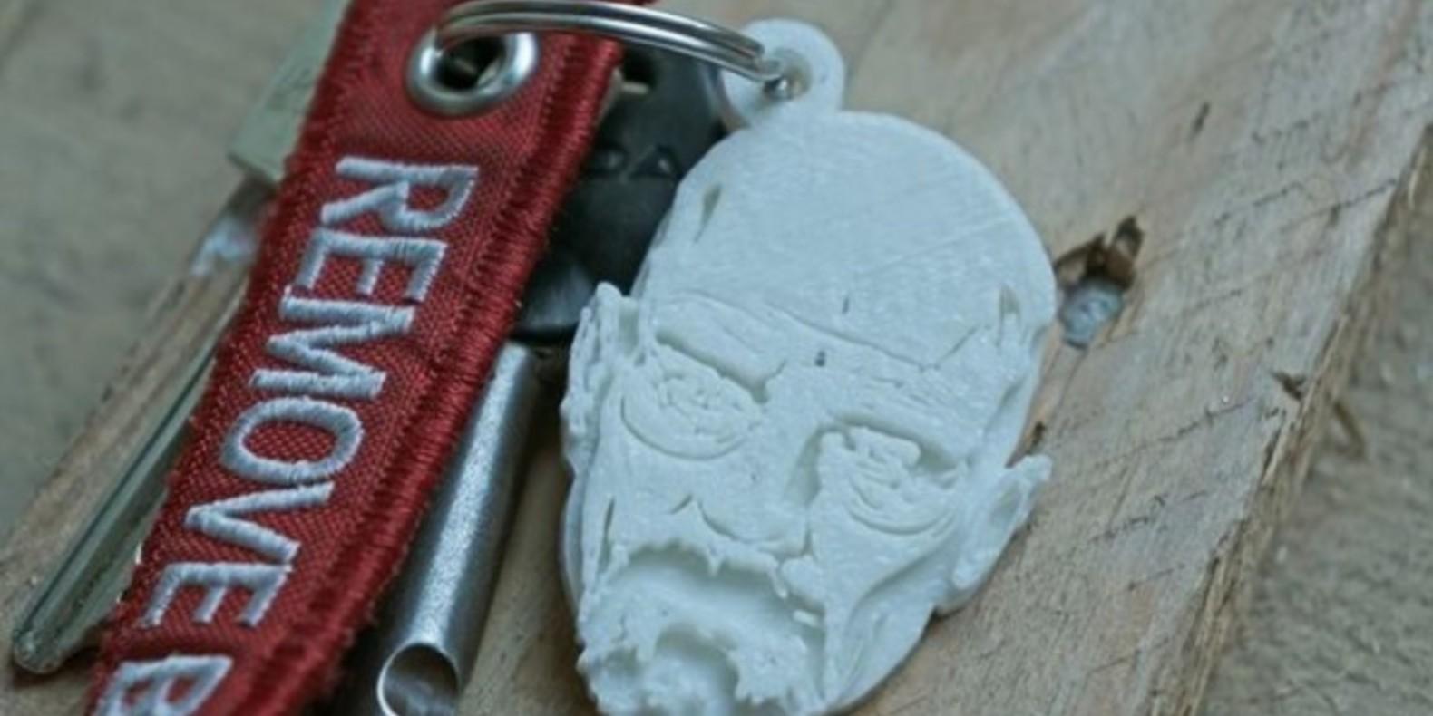 walter white breaking bad fichier 3D cults cults3D impression 3D 3D printing porte clé amc 1