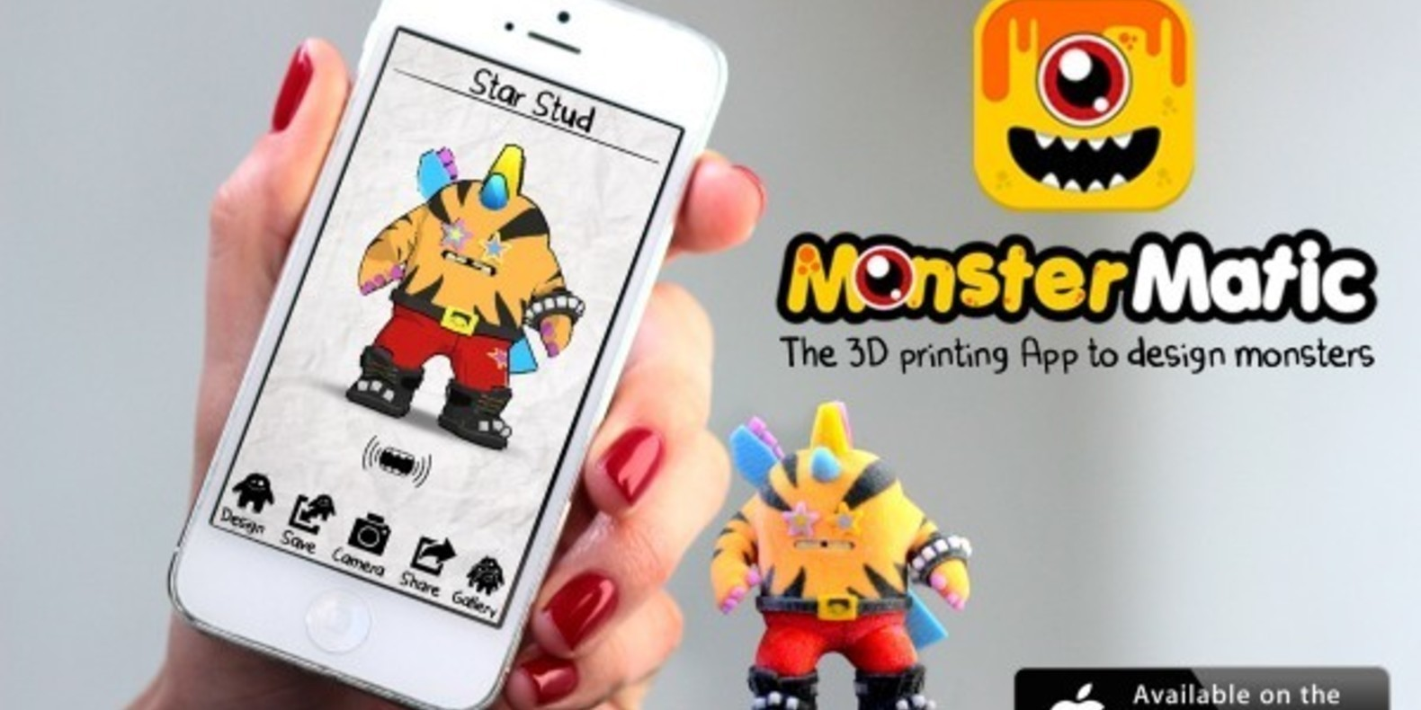 monstermatic game 3D printing printer fichier 3D object cults cults 3D kickstarter 2
