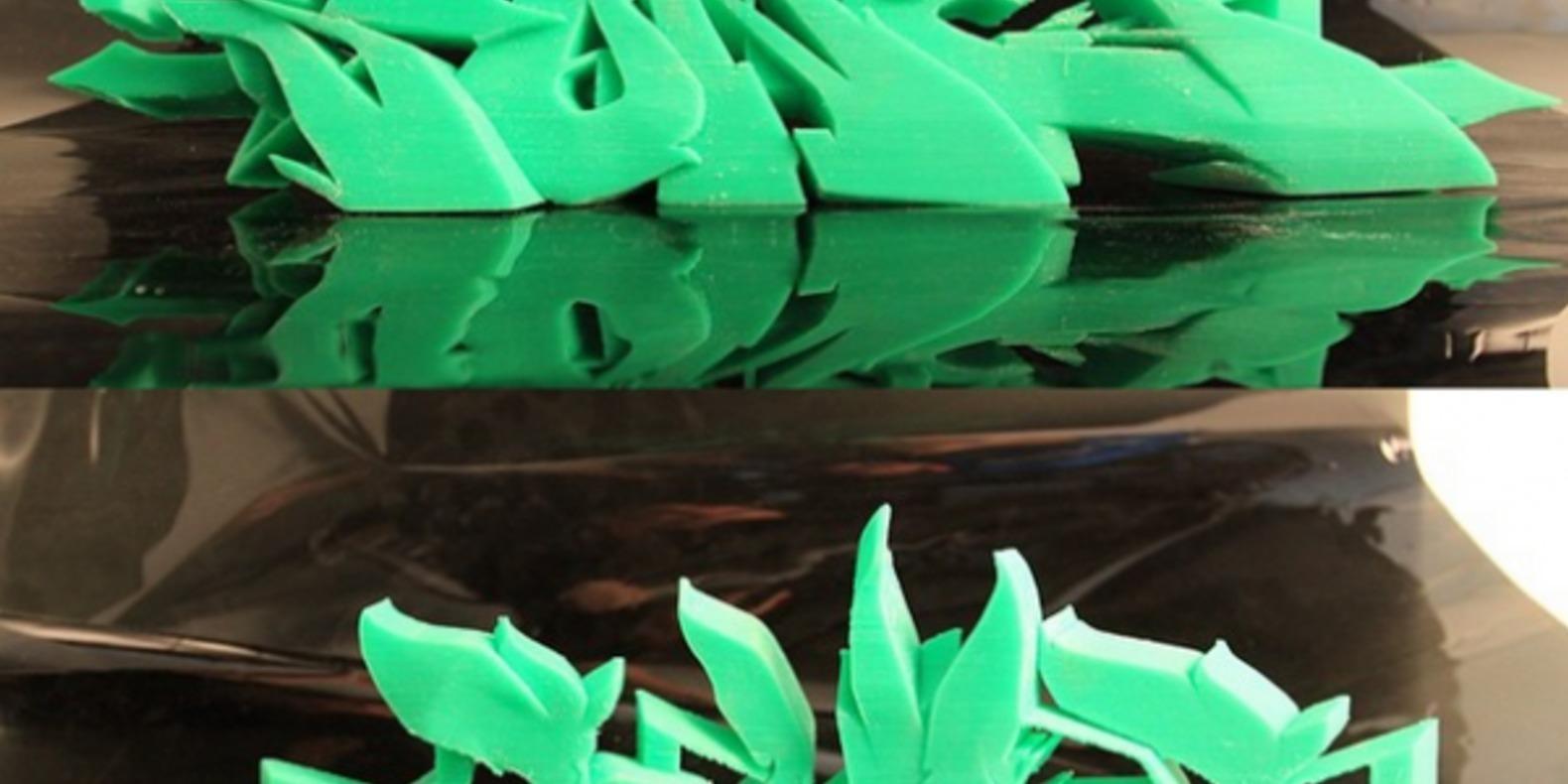 3-SONE-3DPrint graffitis imprimés en 3D Noramlly Ben