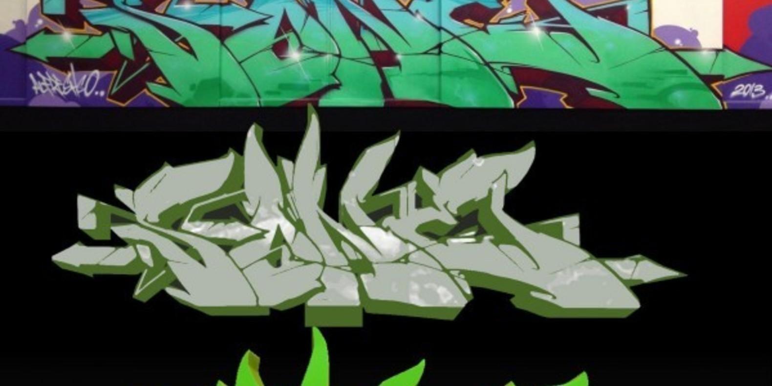 5-SONE-Original-Graffiti graffitis imprimés en 3D Noramlly Ben