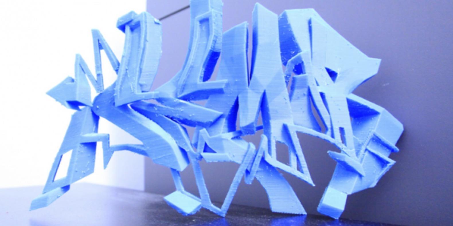 14-SEMOR-3DPrint graffitis imprimés en 3D Noramlly Ben