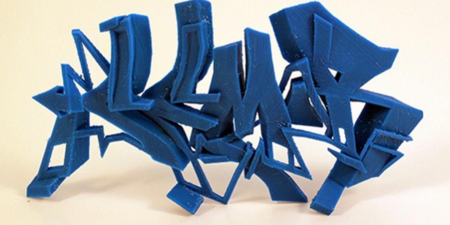 15-SEMOR-3DPrint graffitis imprimés en 3D Noramlly Ben